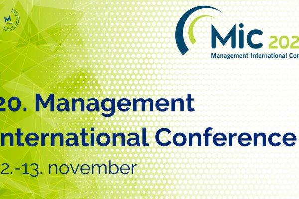 MIC 2020 - 20. edicija konference prvič na spletu
