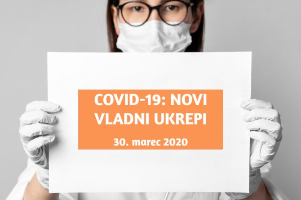 COVID-19: NEW GOVERNMENTAL MEASURES