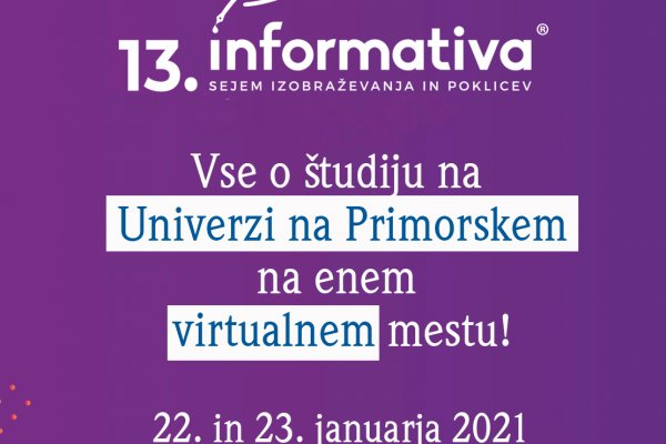 UP na virtualni Informativi 2021