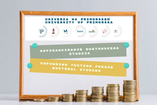 Cofunding tuition fees in doctoral studies at the University of Primorska in academic year 2020/2021
